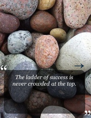ladder of success - be practical!