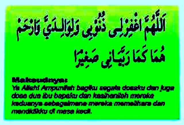doa ibubapa